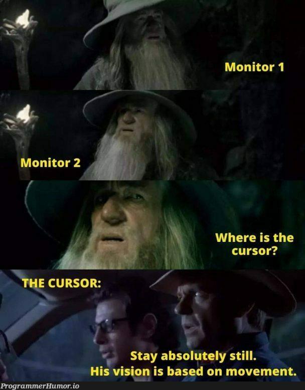 Where the....!!! | monitor-memes, ML-memes | ProgrammerHumor.io