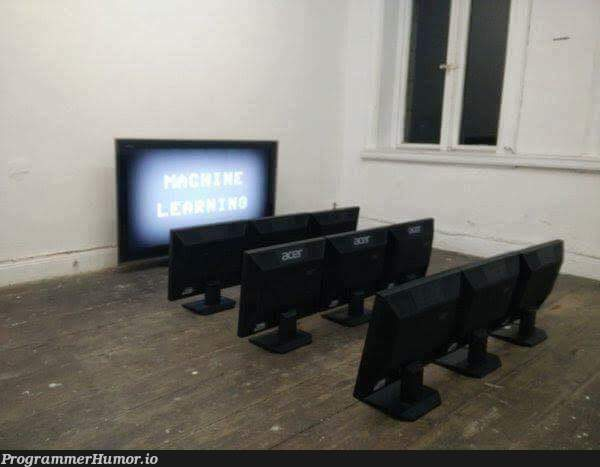 Machine learning | machine learning-memes, machine-memes, mac-memes | ProgrammerHumor.io