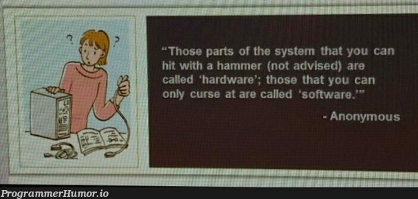 From training class... | software-memes, hardware-memes, class-memes, train-memes | ProgrammerHumor.io
