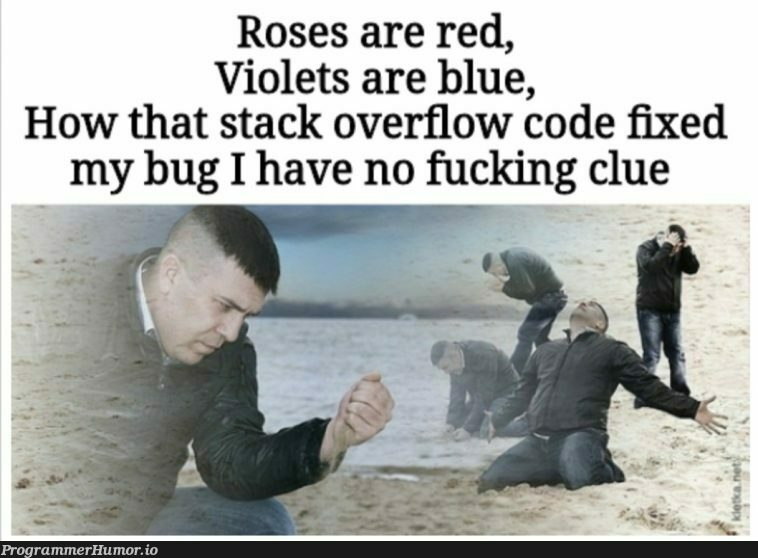 That feeling of closing all the tabs | code-memes, stack-memes, stack overflow-memes, bug-memes, fix-memes, overflow-memes, tabs-memes | ProgrammerHumor.io