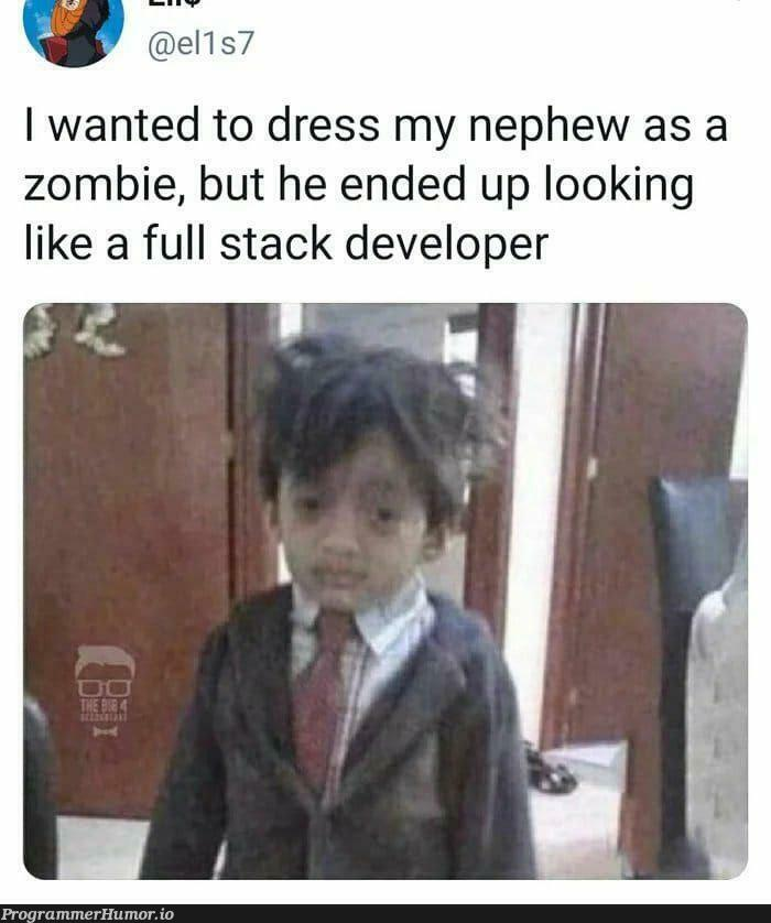You went full stack, never go full stack   developer-memes, stack-memes, full stack-memes   ProgrammerHumor.io