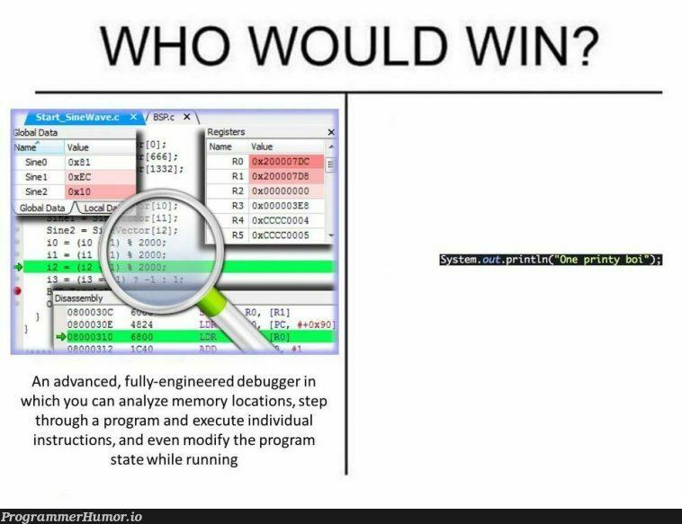I can only agree   engineer-memes, program-memes, bug-memes, loc-memes, debug-memes, div-memes, debugger-memes   ProgrammerHumor.io