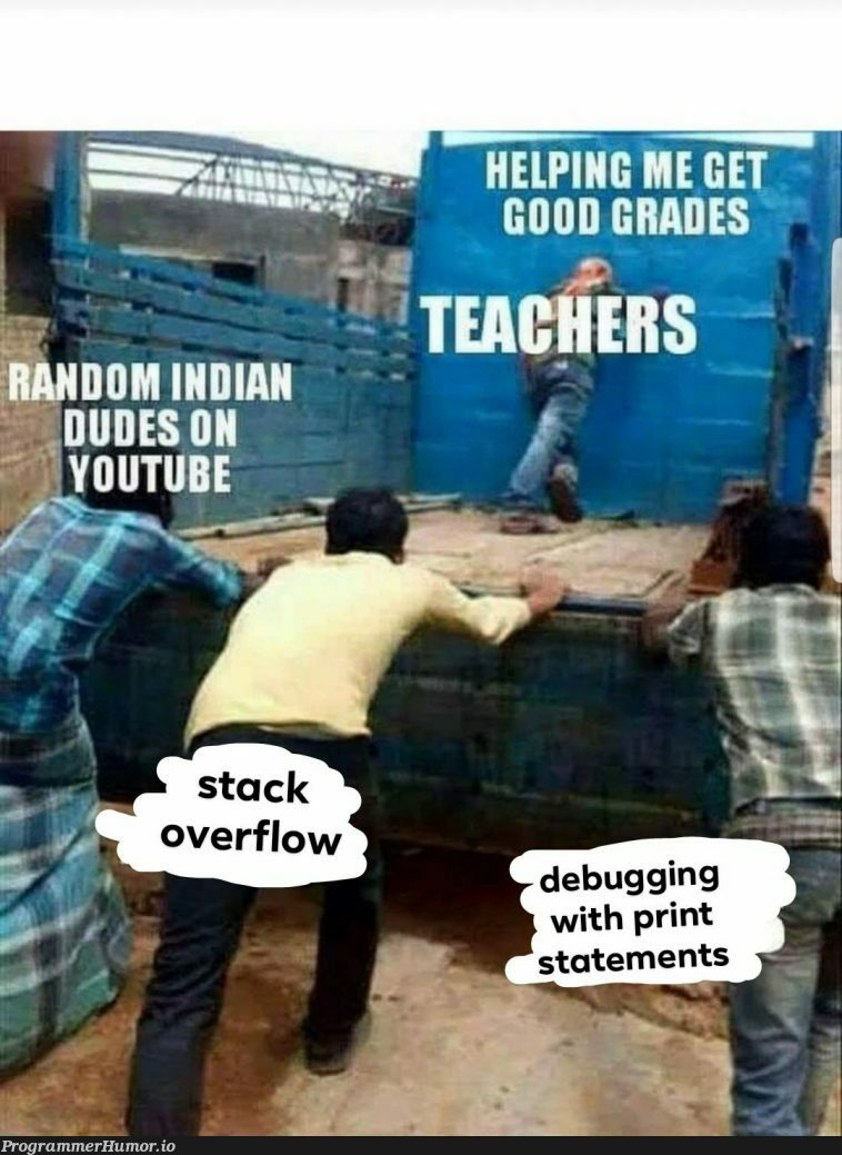 Stack overflow is love, stack overflow is life | stack-memes, stack overflow-memes, debugging-memes, bug-memes, debug-memes, overflow-memes | ProgrammerHumor.io