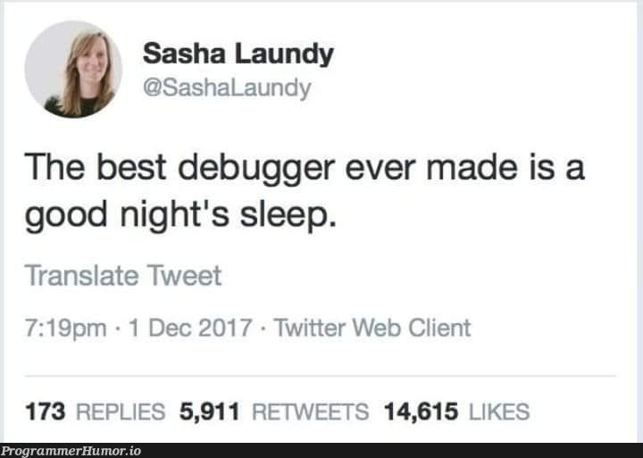 Yeah why not   web-memes, bug-memes, debug-memes, cli-memes, debugger-memes, twitter-memes, retweet-memes   ProgrammerHumor.io