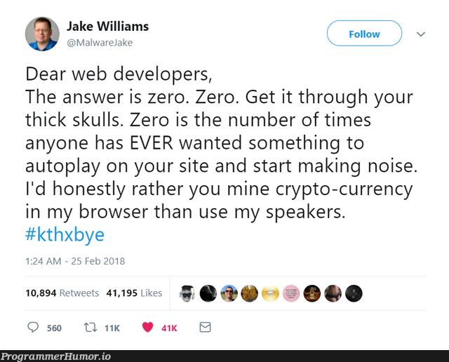 speaker ads | developer-memes, web developer-memes, web-memes, crypto-memes, IT-memes, crypto-currency-memes | ProgrammerHumor.io