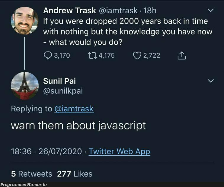 """""""I come with a warning from the future."""" 