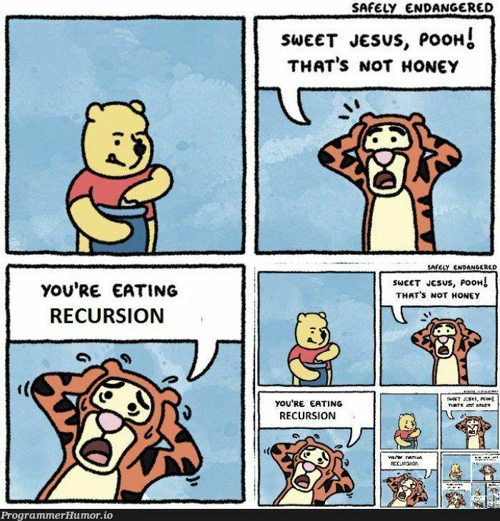 Oh nooooooooo! | recursion-memes | ProgrammerHumor.io