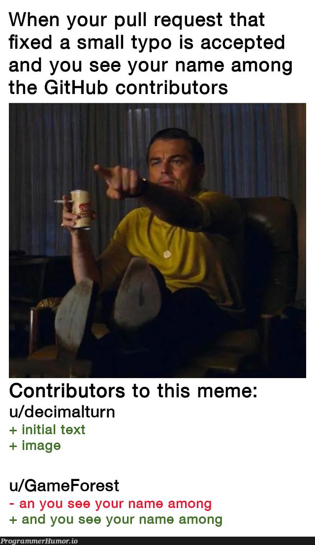 This is getting too meta   git-memes, github-memes, image-memes, rest-memes, fix-memes   ProgrammerHumor.io