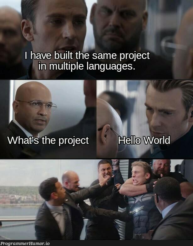 They're all on GitHub | git-memes, github-memes, language-memes | ProgrammerHumor.io