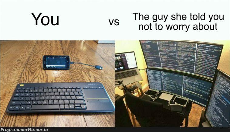 rate my setup | ProgrammerHumor.io