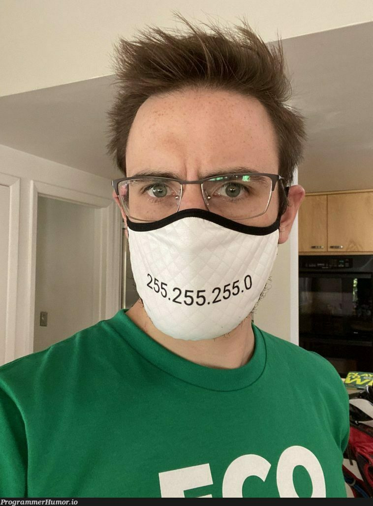 Subnet mask | ProgrammerHumor.io