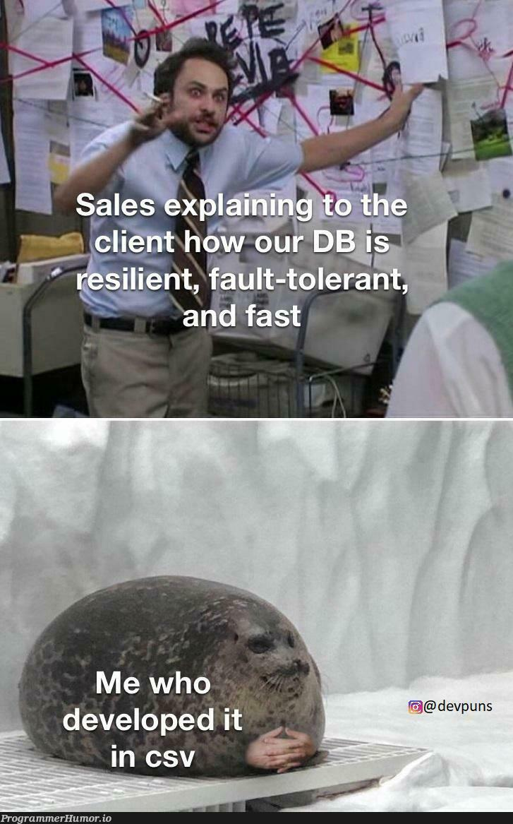 Sales be selling everything that moves   ProgrammerHumor.io