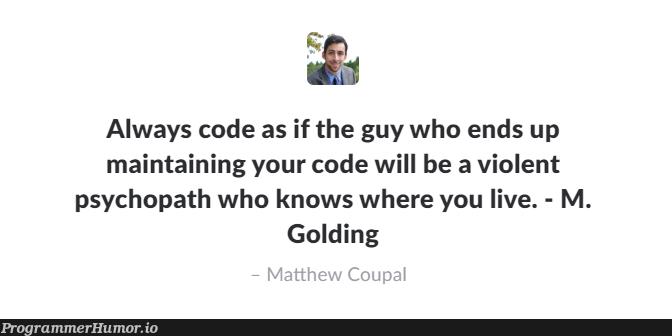 It's true 80% of the time | code-memes | ProgrammerHumor.io