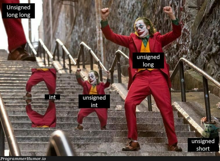 Ah yes, the joys of using strongly typed languages | language-memes | ProgrammerHumor.io