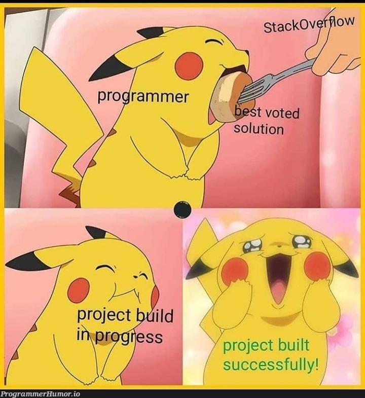 Pleasure intensifies | ProgrammerHumor.io