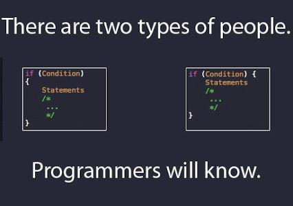 'Because there's no way I'm going to be with someone who uses spaces over tabs.' 😂 | programmer-memes, program-memes, space-memes, tabs-memes | ProgrammerHumor.io