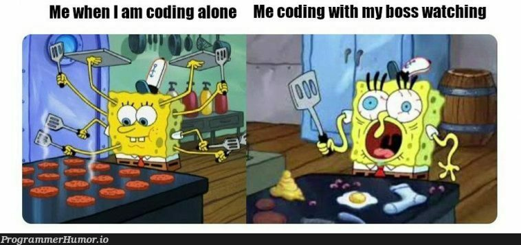 DON'T LOOK AT ME | coding-memes | ProgrammerHumor.io