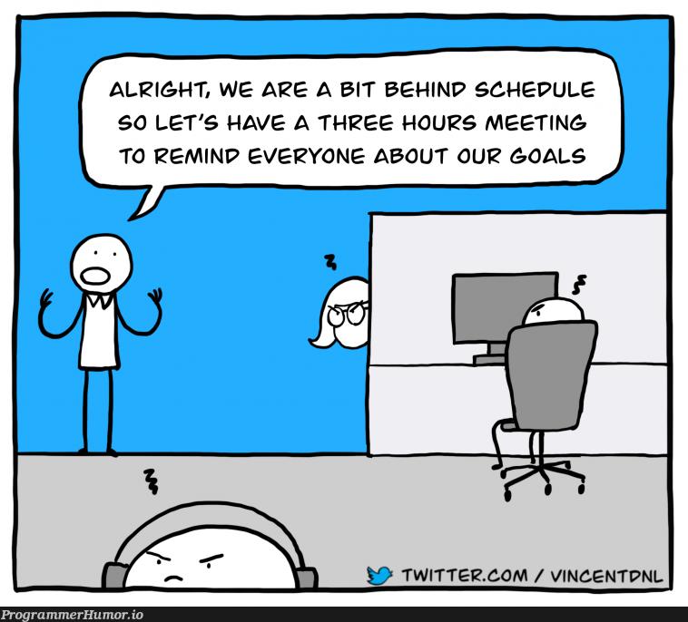 Meetings   twitter-memes   ProgrammerHumor.io