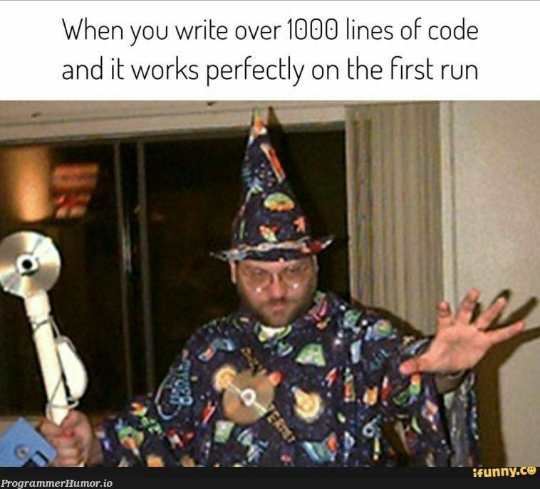 Yer a Wizard | code-memes, lines of code-memes | ProgrammerHumor.io