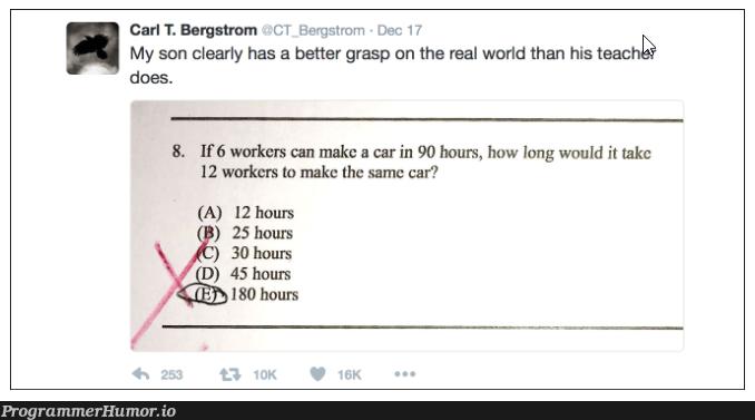 Number of Devs vs Development Time | development-memes, devs-memes, IT-memes | ProgrammerHumor.io