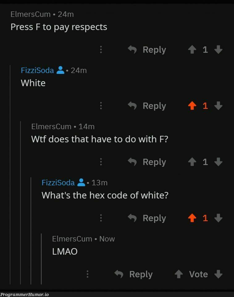 #ffffff | code-memes | ProgrammerHumor.io
