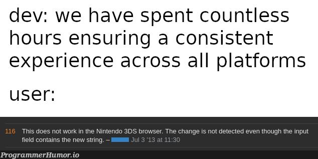 Just gotta call Miyamoto quick   forms-memes   ProgrammerHumor.io