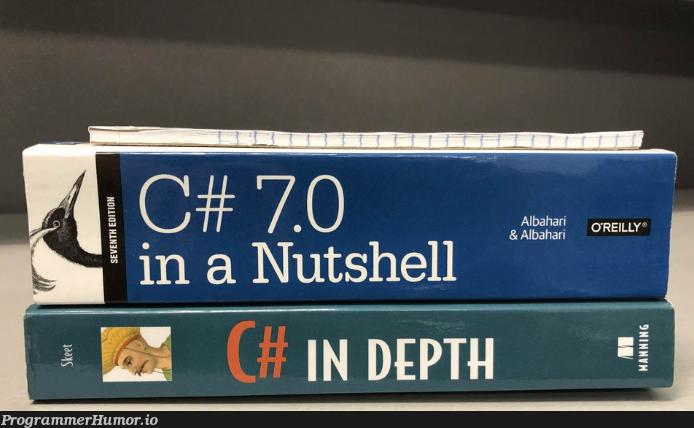One of them is definitely lying...   ProgrammerHumor.io
