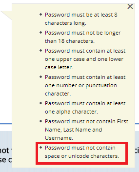 This password policy doesn't leave me much room to work with   password-memes   ProgrammerHumor.io