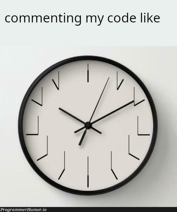 // Title | code-memes, comment-memes | ProgrammerHumor.io
