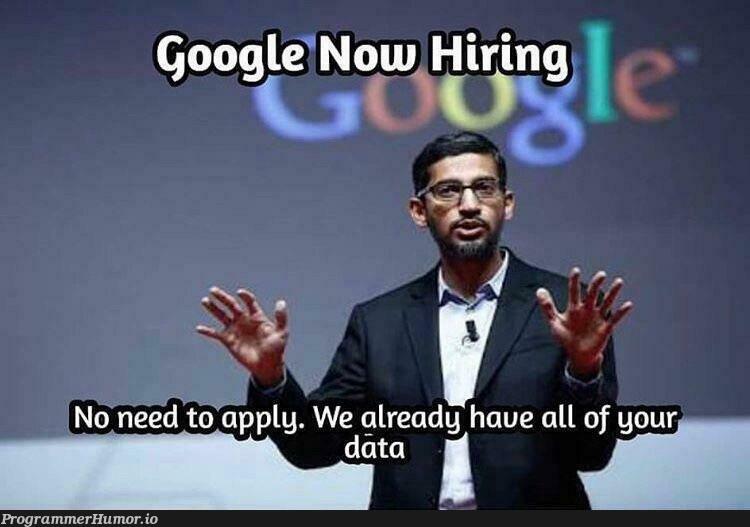 OK.   google-memes   ProgrammerHumor.io