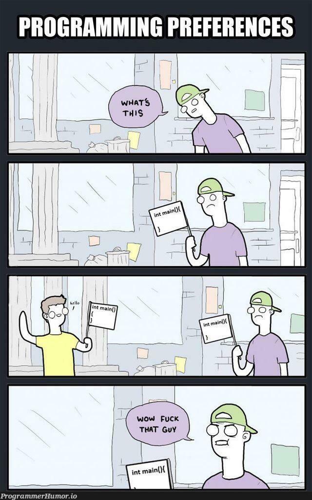 Fuck that guy | ProgrammerHumor.io