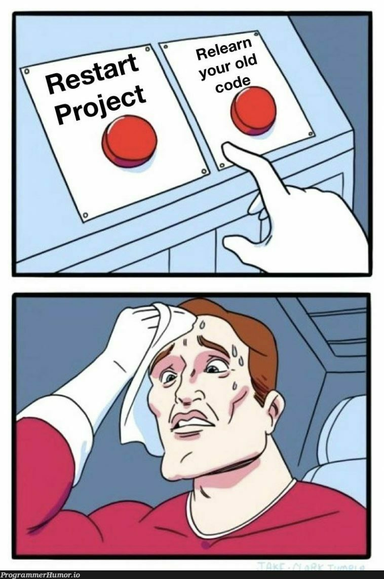 Hard decision to make. | ProgrammerHumor.io