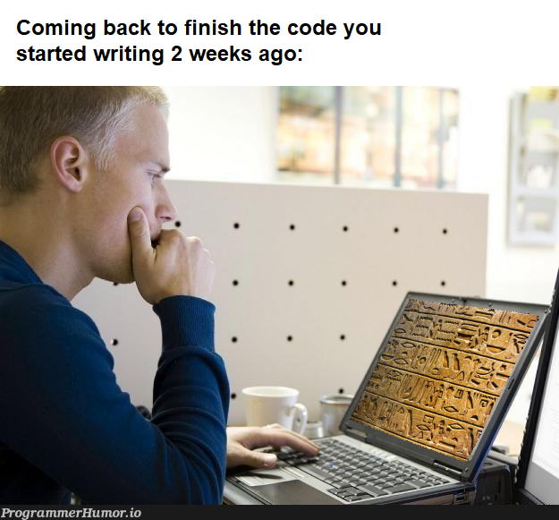 Getting back in the zone   code-memes   ProgrammerHumor.io