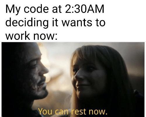 Finally, inner peace | code-memes, IT-memes | ProgrammerHumor.io