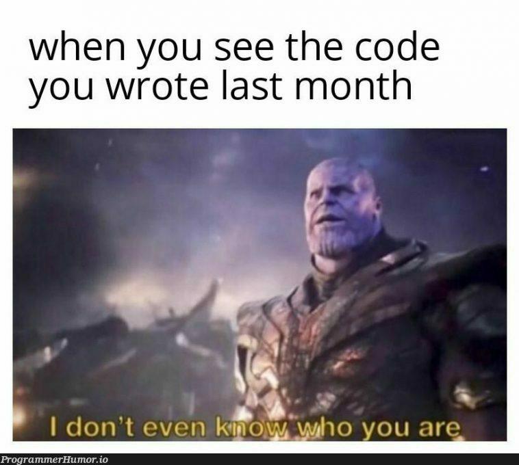 Unrecognisable | code-memes | ProgrammerHumor.io