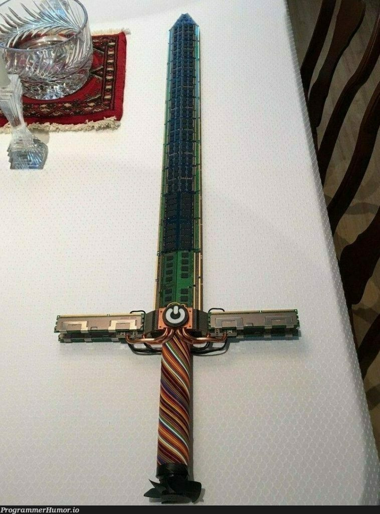 System Administrator Sword!!! | ProgrammerHumor.io