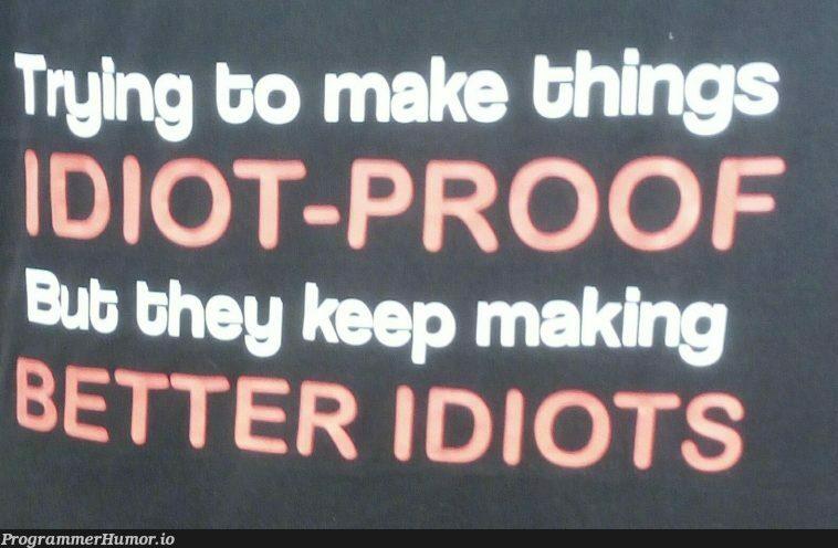 Problems of IT | ProgrammerHumor.io