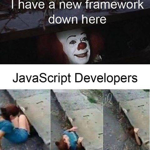 IT JS | IT-memes, framework-memes | ProgrammerHumor.io