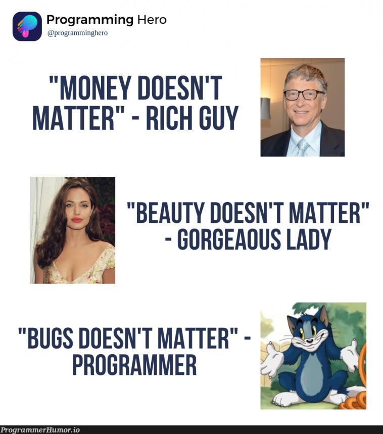 What do you think?   programming-memes, program-memes, ML-memes   ProgrammerHumor.io
