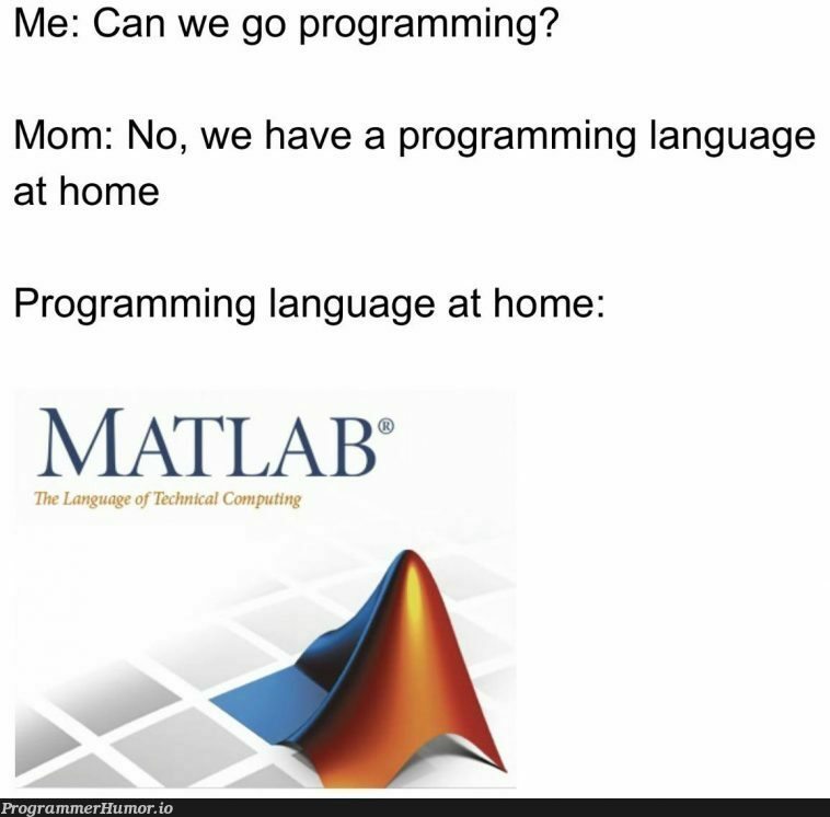 """disp(""""This is so sad. Can we use Python?"""") 