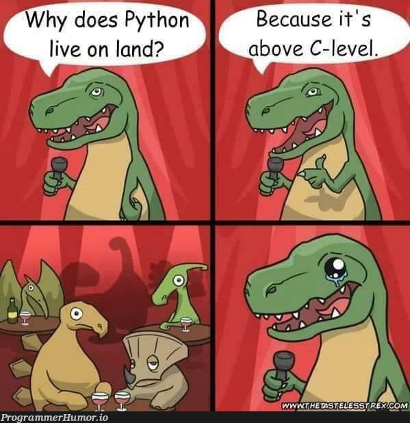 Python or C?   python-memes   ProgrammerHumor.io