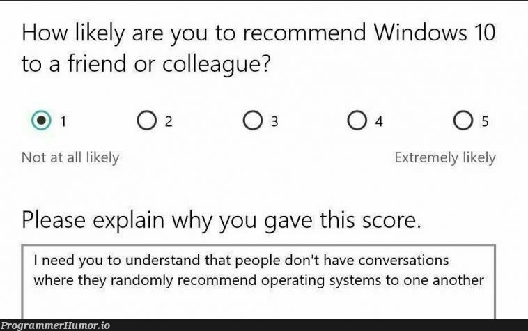 True | random-memes, windows-memes, ML-memes, operating system-memes | ProgrammerHumor.io