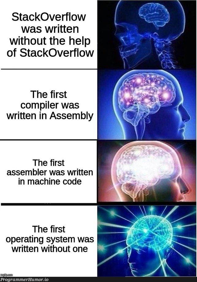 stack overflow | code-memes, stackoverflow-memes, stack-memes, stack overflow-memes, assembly-memes, machine-memes, overflow-memes, compiler-memes, mac-memes, operating system-memes | ProgrammerHumor.io