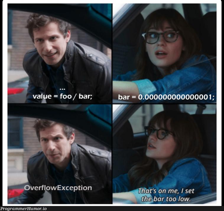 Foobar | overflow-memes, exception-memes | ProgrammerHumor.io