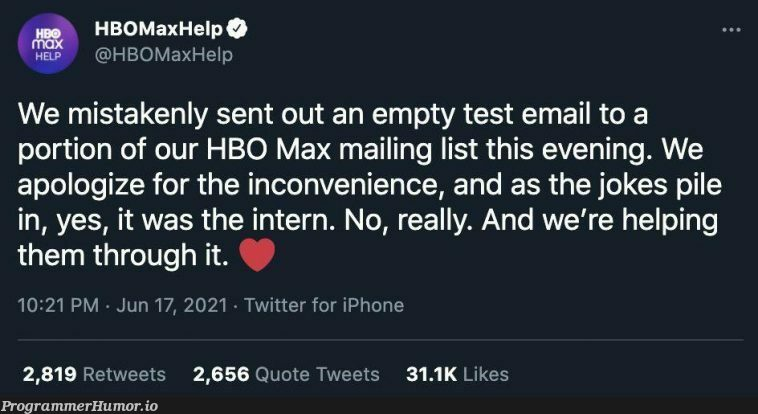 No,really. | iphone-memes, test-memes, list-memes, email-memes, IT-memes, twitter-memes, retweet-memes | ProgrammerHumor.io