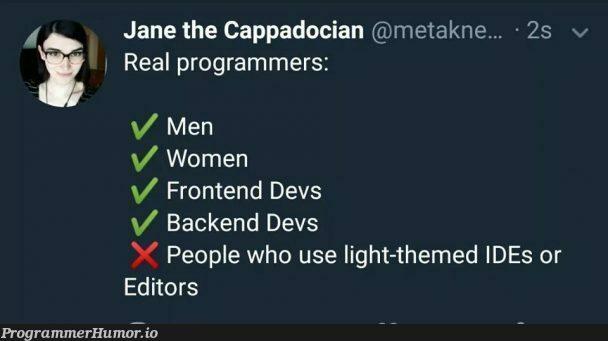 ✅   programmer-memes, backend-memes, program-memes, frontend-memes, devs-memes, ide-memes   ProgrammerHumor.io