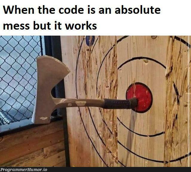 Functionality is key   function-memes, c-memes   ProgrammerHumor.io