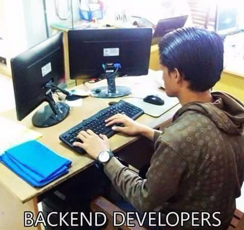 Another backend dev skill   developer-memes, backend-memes   ProgrammerHumor.io