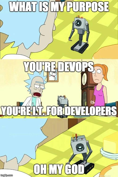 DevOps in a nutshell | shell-memes, devops-memes | ProgrammerHumor.io