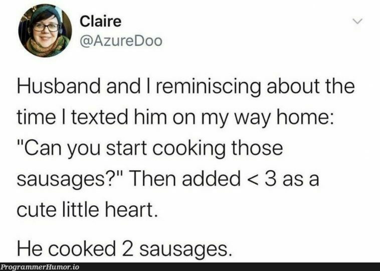Husband does good maths | azure-memes | ProgrammerHumor.io